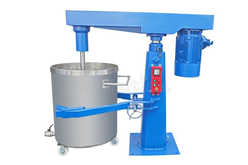Industriële mixer royalty-vrije stock afbeeldingen