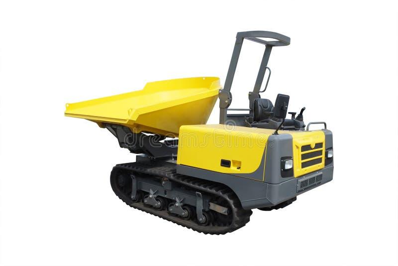 Het beeld van mini-tractor stock fotografie