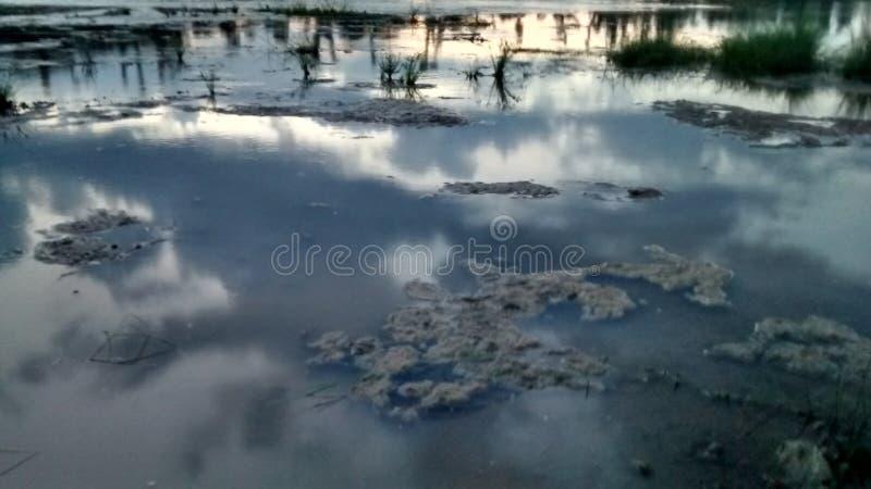 Het beeld van Nice met wolken royalty-vrije stock fotografie