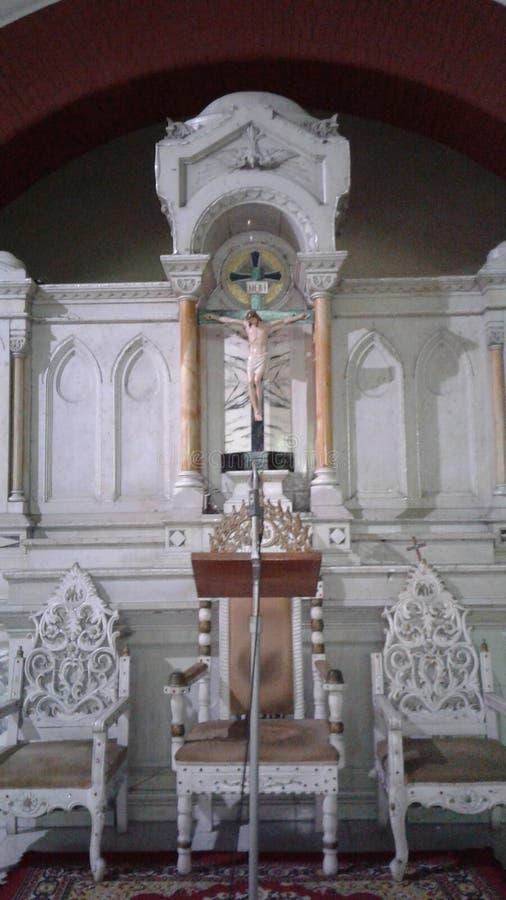Het beeldbeelden van Jesus stock fotografie