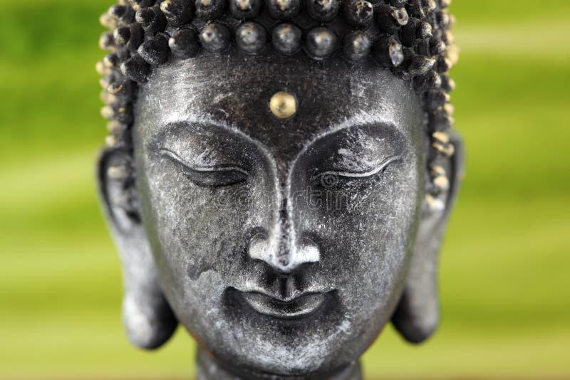 Het beeldhouwwerk van Boedha stock foto's