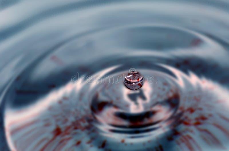Het Beeldhouwwerk van de Daling van het water royalty-vrije stock afbeelding