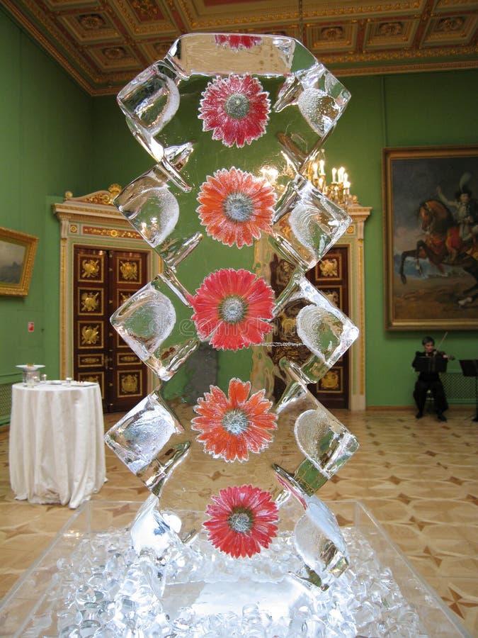 Het beeldhouwwerk van het ijs royalty-vrije stock foto's