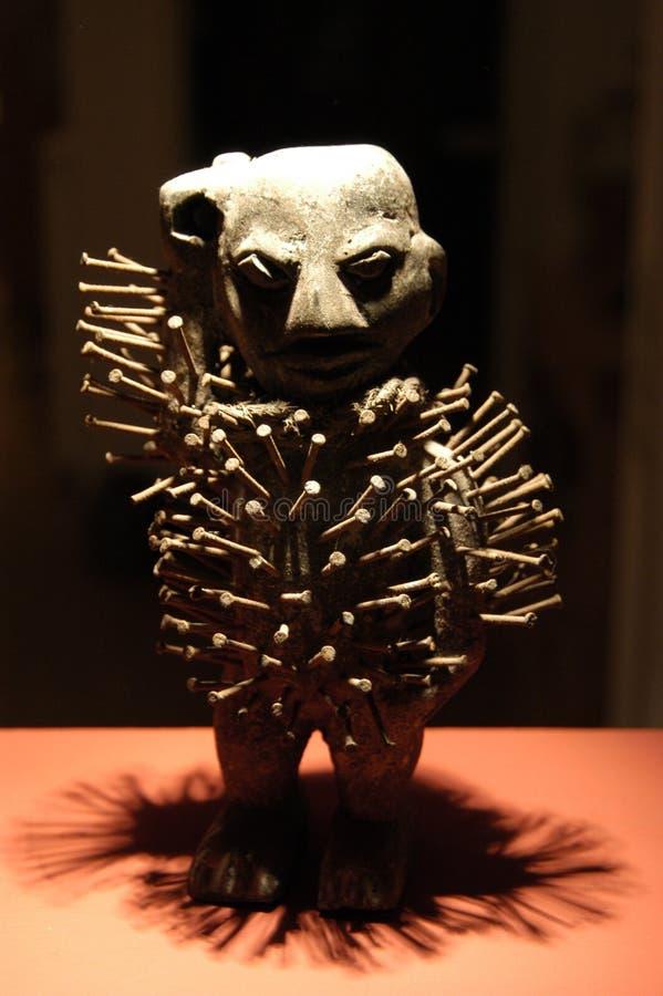 Het Beeldhouwwerk van het voodoo stock foto's