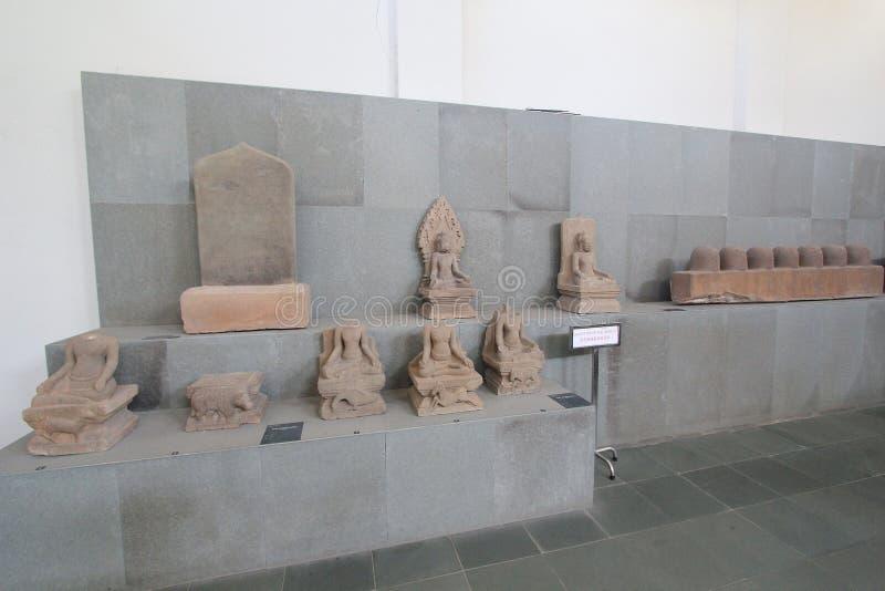 Het Beeldhouwwerkmuseum van Da Nangcham royalty-vrije stock fotografie