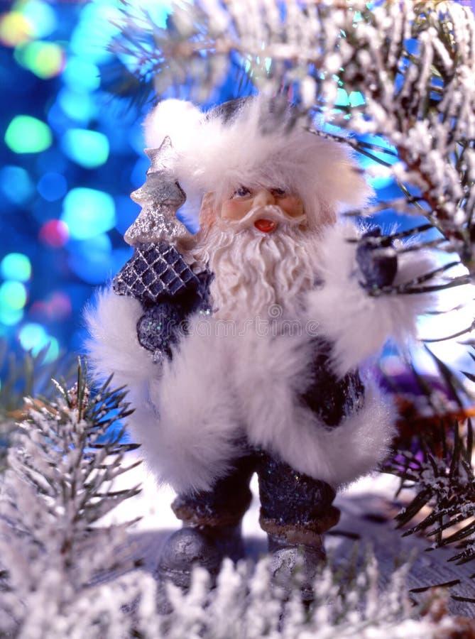 Het beeldje van de Kerstman royalty-vrije stock afbeeldingen