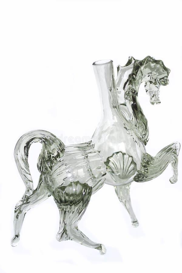 Het beeldje van het glas royalty-vrije stock afbeeldingen