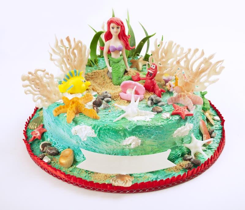 Het beeldverhaal van de cake royalty-vrije stock afbeeldingen