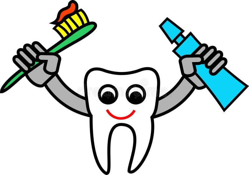 Het beeldverhaal van de tand