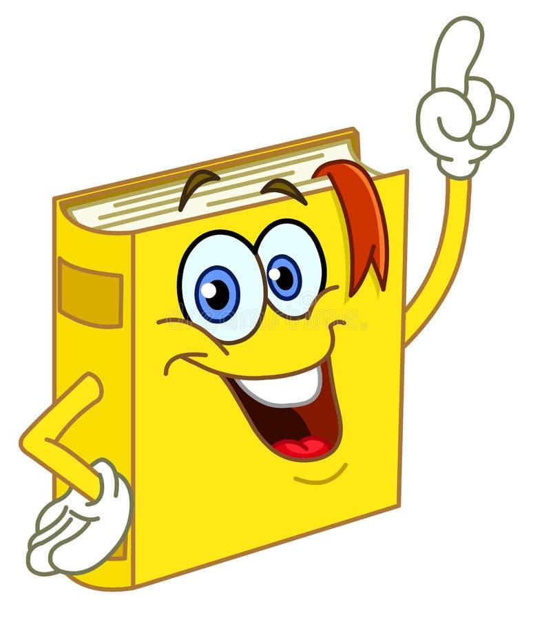 Het beeldverhaal van het boek stock illustratie