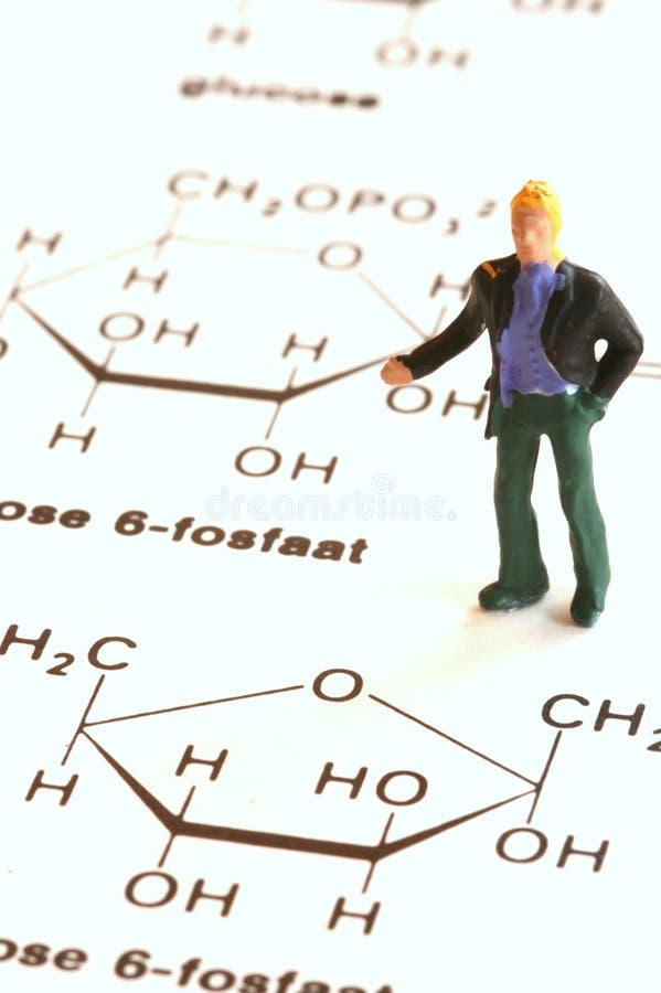 Het begrip van chemie stock foto
