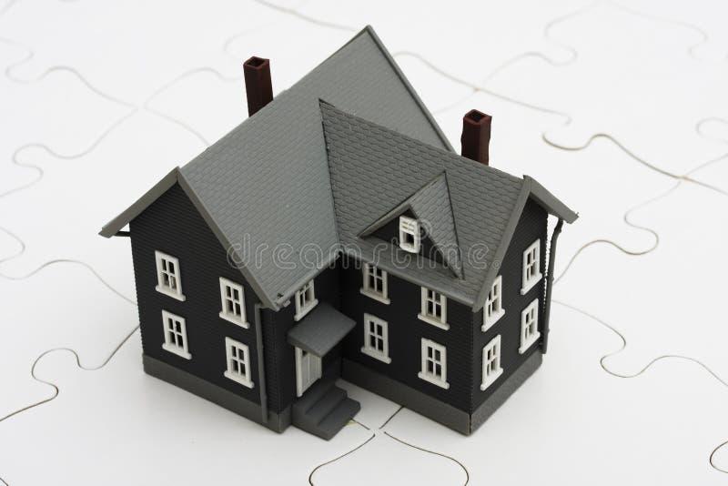 Het begrip van Hypotheken stock afbeelding