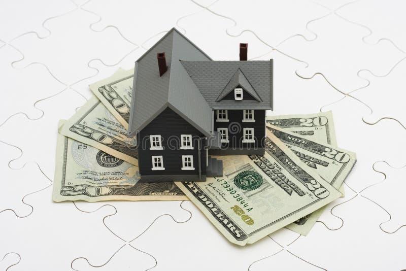 Het begrip van Hypotheken royalty-vrije stock afbeelding