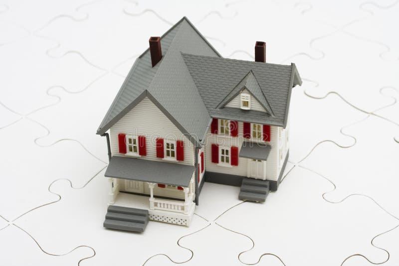 Het begrip van Hypotheken stock fotografie