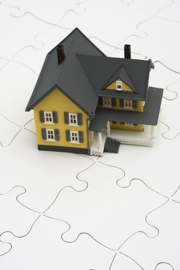 Het begrip van Hypotheken stock afbeeldingen