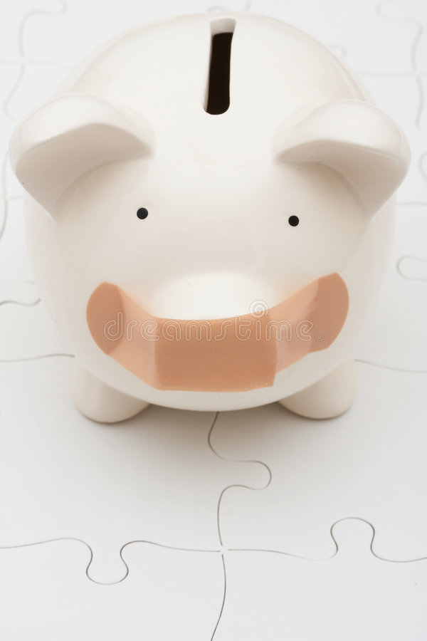 Het begrip van Persoonlijke Financiën stock afbeelding