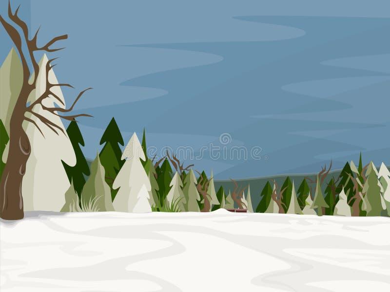 Het Behang van Kerstmis stock illustratie