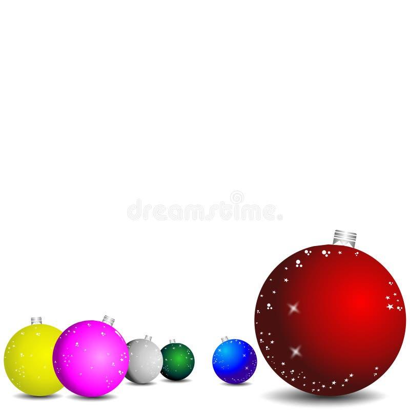 Het behang van Kerstmis vector illustratie