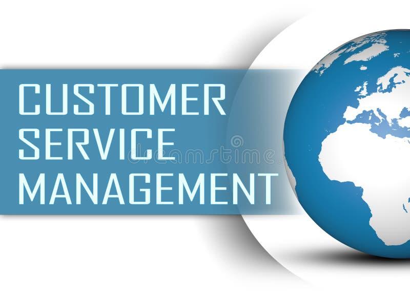 Het Beheer van de klantendienst vector illustratie