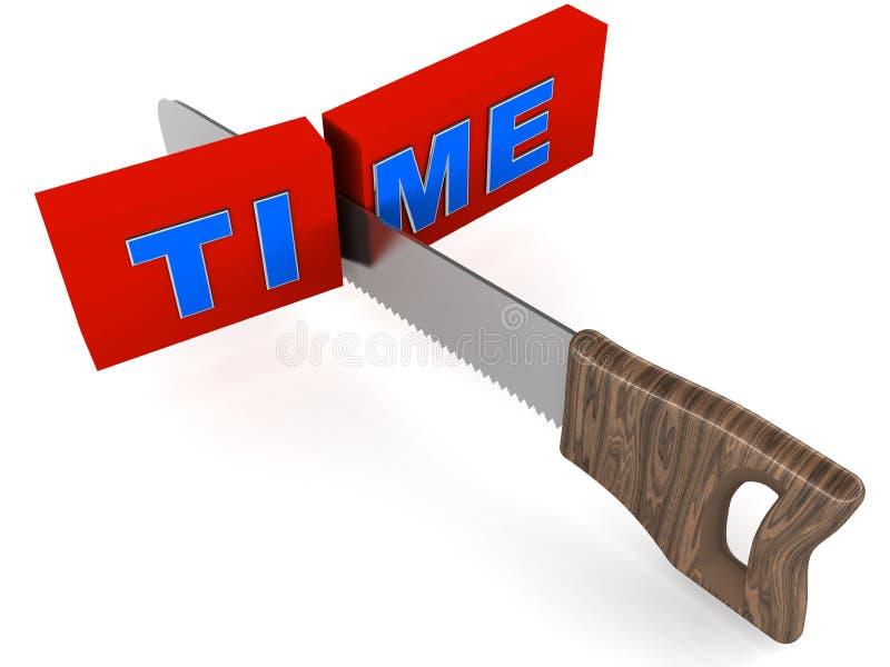 Het beheer van de tijd stock illustratie