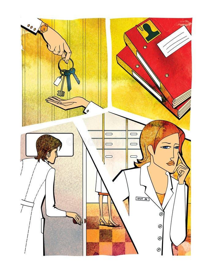 Het Beheer van de verandering E r vector illustratie