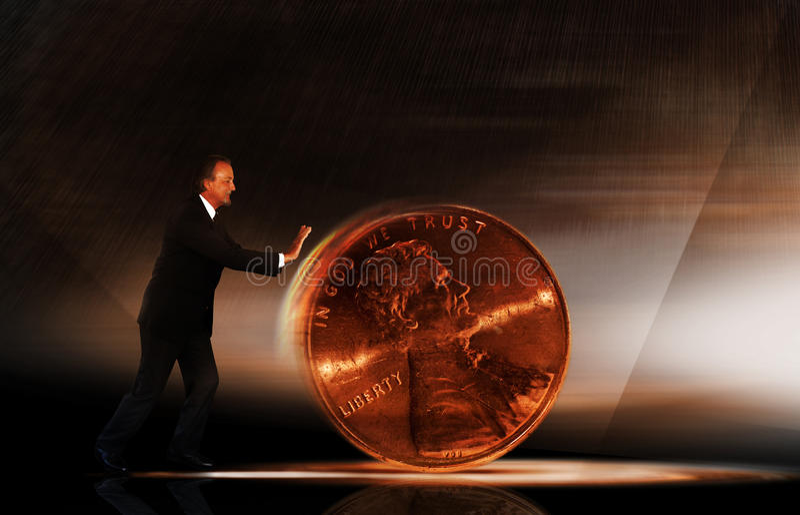 Het beheer van het geld royalty-vrije stock fotografie