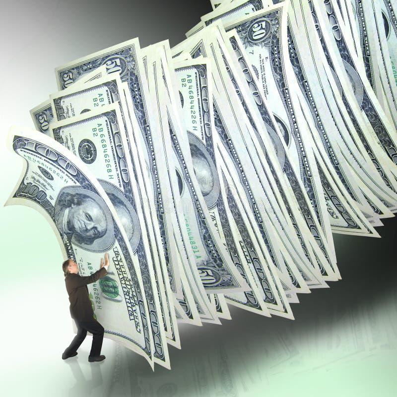 Het beheer van het geld royalty-vrije stock afbeeldingen