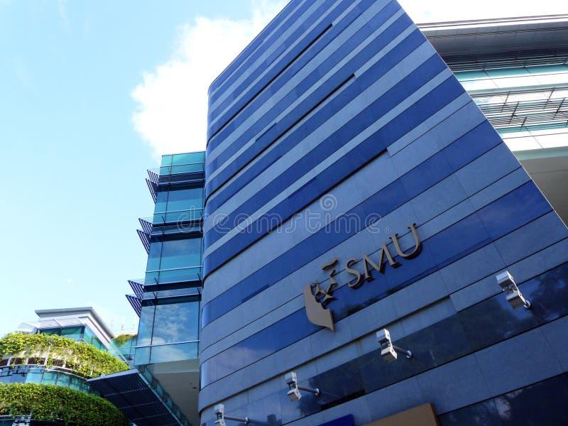 Het Beheersuniversiteit van Singapore royalty-vrije stock fotografie