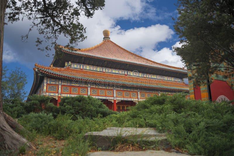Het Beihaipark is een keizertuin royalty-vrije stock foto