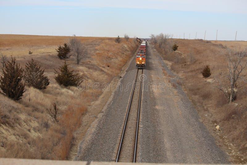Het bekijken de trein royalty-vrije stock foto
