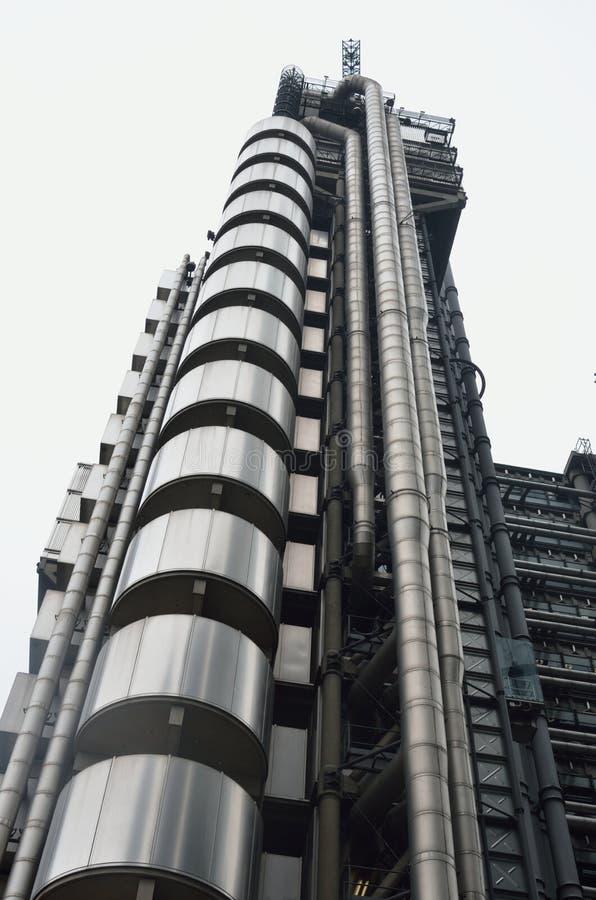 Het bekijken omhoog Lloyds-de Bouw royalty-vrije stock foto's