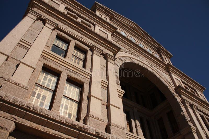 Het bekijken omhoog Texas capitol royalty-vrije stock fotografie
