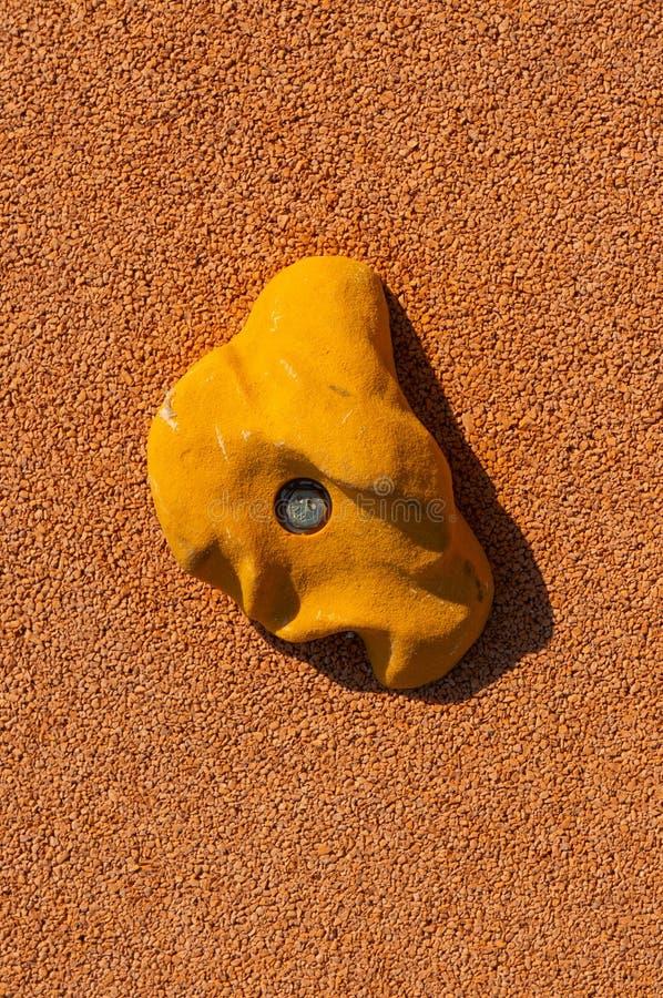 Het beklimmen houdt greep dicht geschoten omhoog stock foto