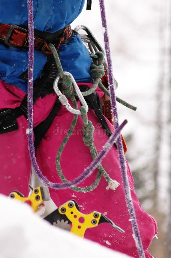 Het Beklimmen Op Bergen Stock Foto