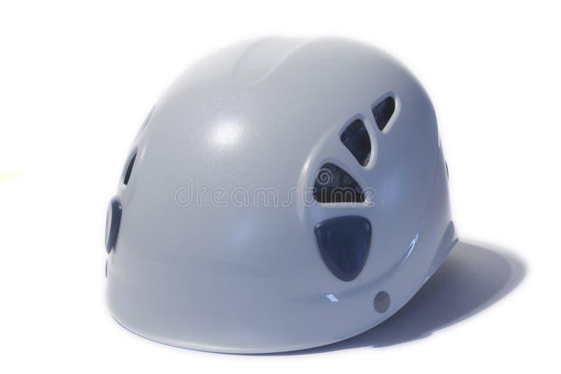 Het beklimmen van/het uithollen van helm stock foto's