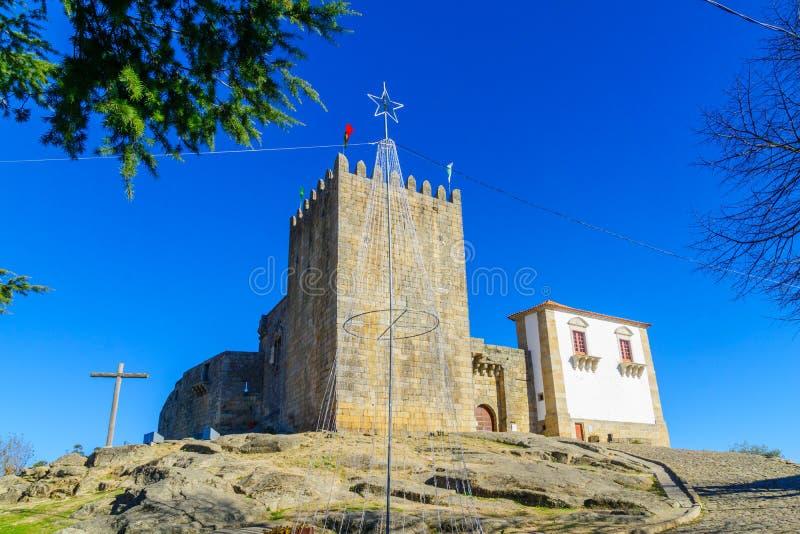 Het Belmonte kasteel royalty-vrije stock fotografie