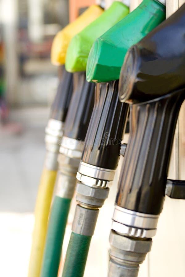 Het benzinestationdetail van de benzine royalty-vrije stock foto's