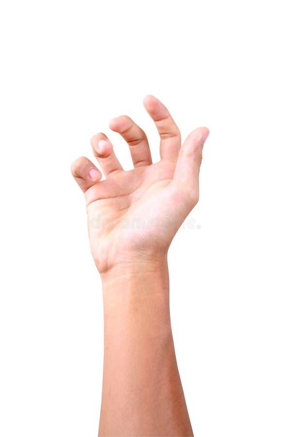 Het bereiken van handen 1 stock afbeelding