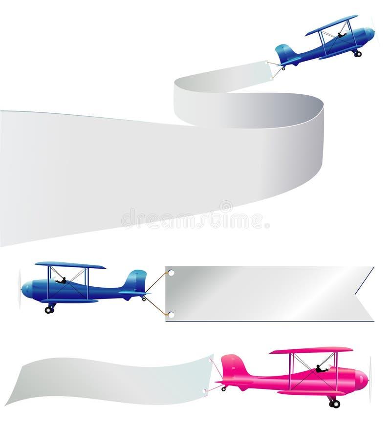 Het bericht van de lucht vector illustratie