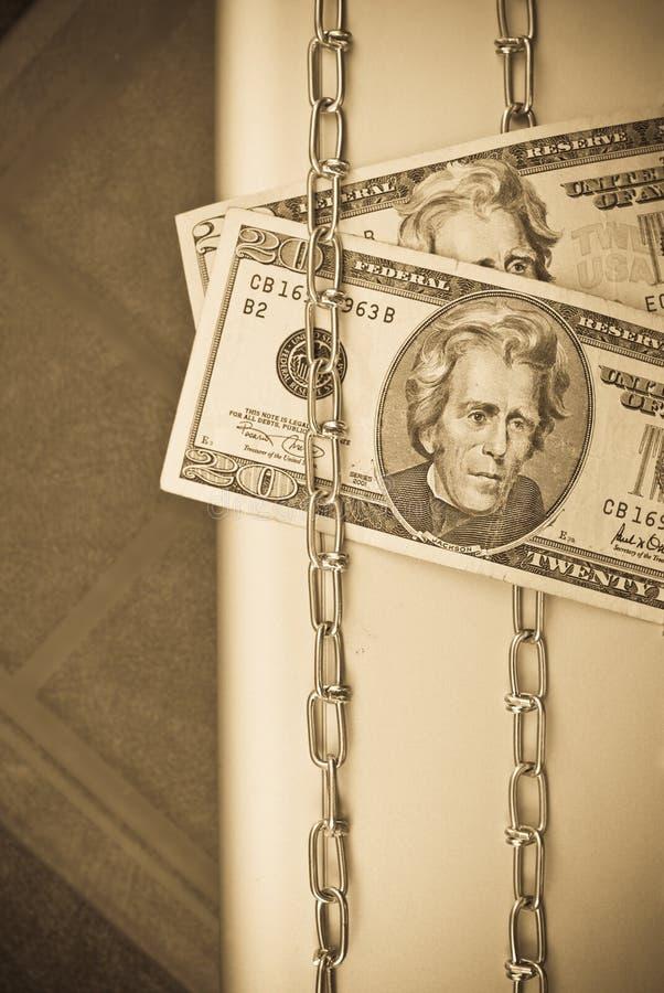 Het beschermen van Uw Geld royalty-vrije stock fotografie