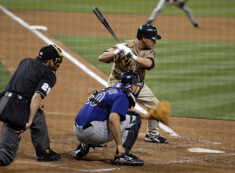 Het Beslag van het honkbal royalty-vrije stock afbeeldingen