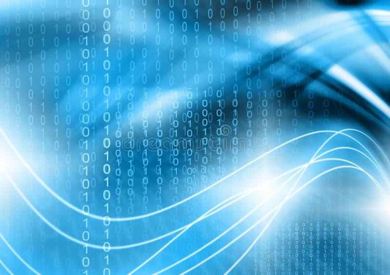 Het beste Concept van Internet globale zaken technologische achtergrond Stralensymbolen WiFi, van Internet, televisie vector illustratie