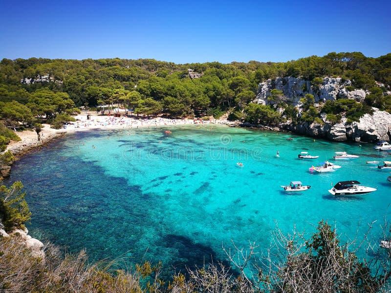 Het beste strand op het eiland royalty-vrije stock afbeelding