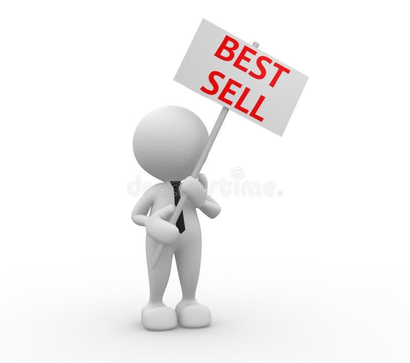 Het beste verkoopt vector illustratie