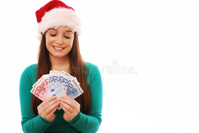 Het besteden van Kerstmis royalty-vrije stock foto's