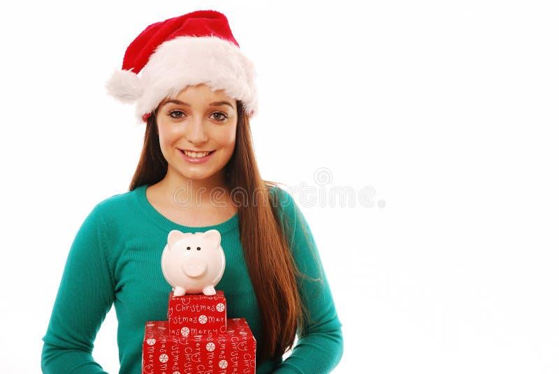 Het besteden van Kerstmis stock foto's