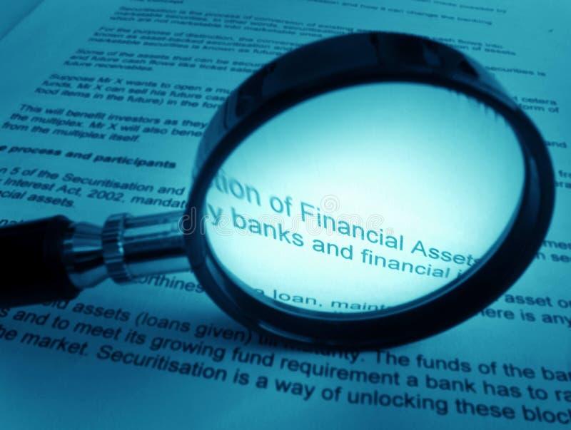 Het bestuderen over financiën royalty-vrije stock afbeeldingen