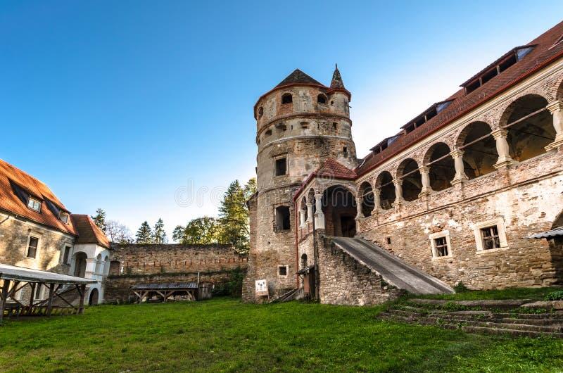 Het Bethlen-Kasteel, Cris, Roemenië stock fotografie