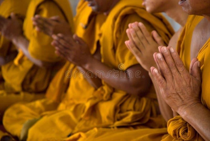 Het bidden Handen royalty-vrije stock afbeelding