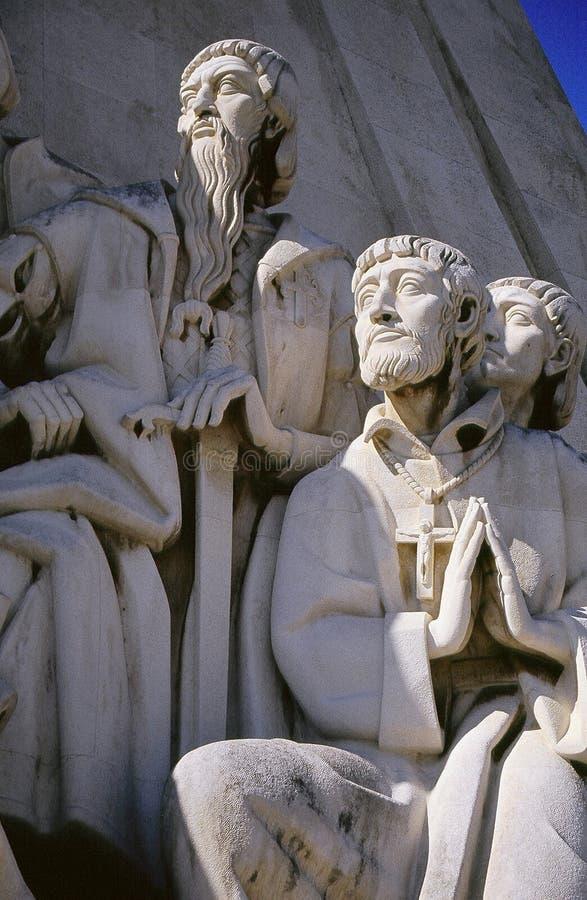 Het bidden Monument stock foto